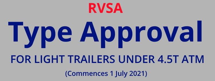 TRAILER TYPE APPROVAL RVSA